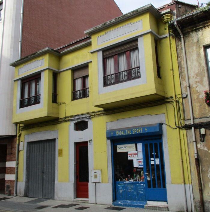 Calle Cean Bermúdez 20 es Gijón Art Decó