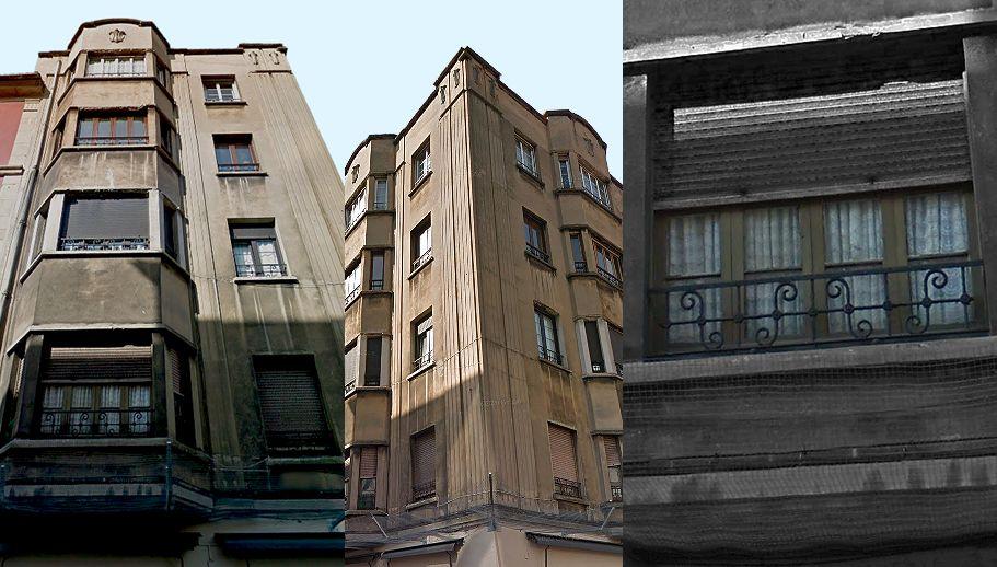 Calle Cervantes 9 es Art Decó de Gijón