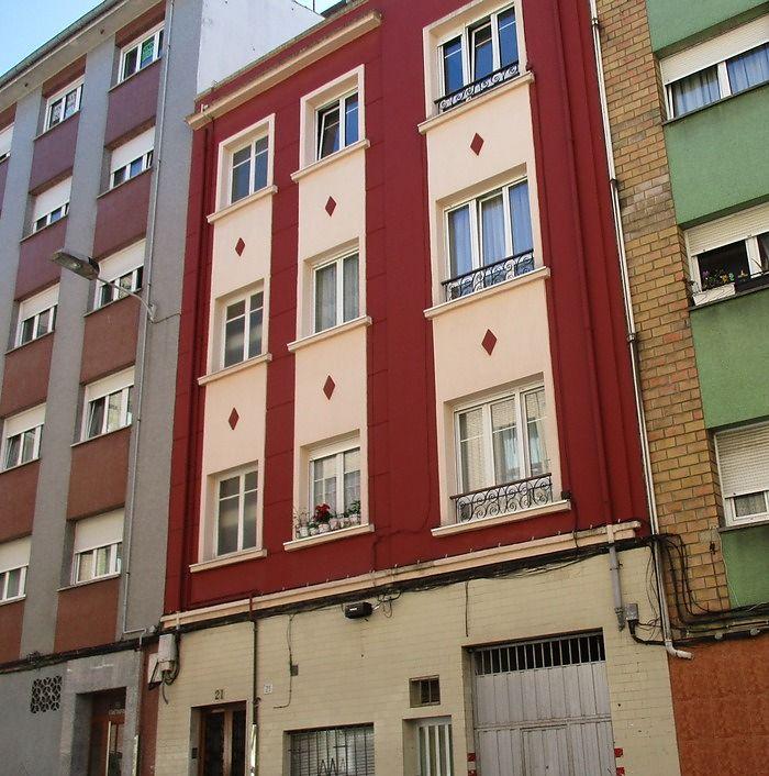 Calle Jesús 21 es Art Decó de Gijón