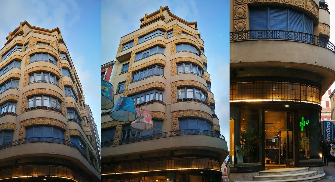 Calle Jovellanos 10 es Art Decó de Gijón