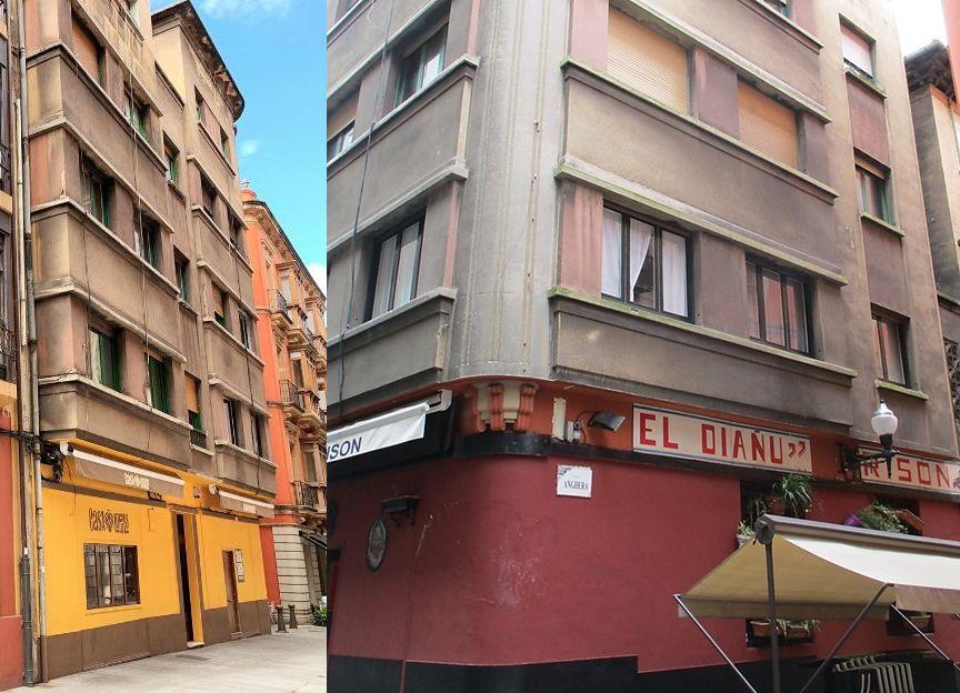 Art Decó de Gijón en calle de la Merced