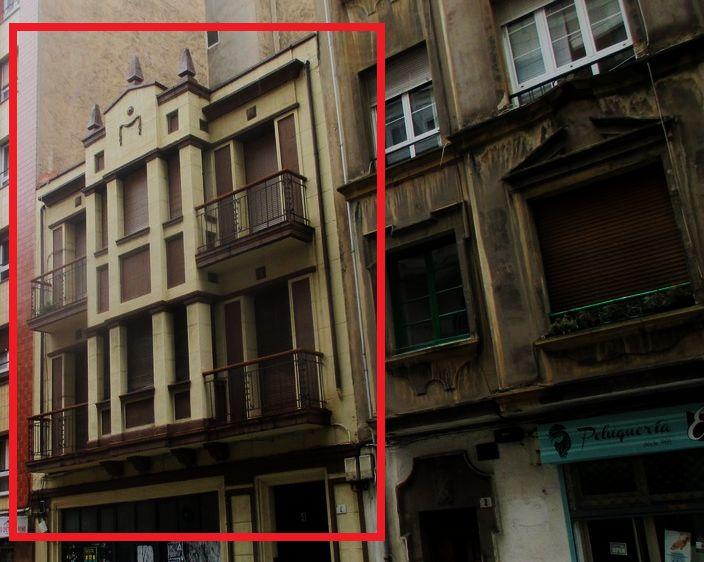Calle Mieres 4 es Art Decó de Gijón