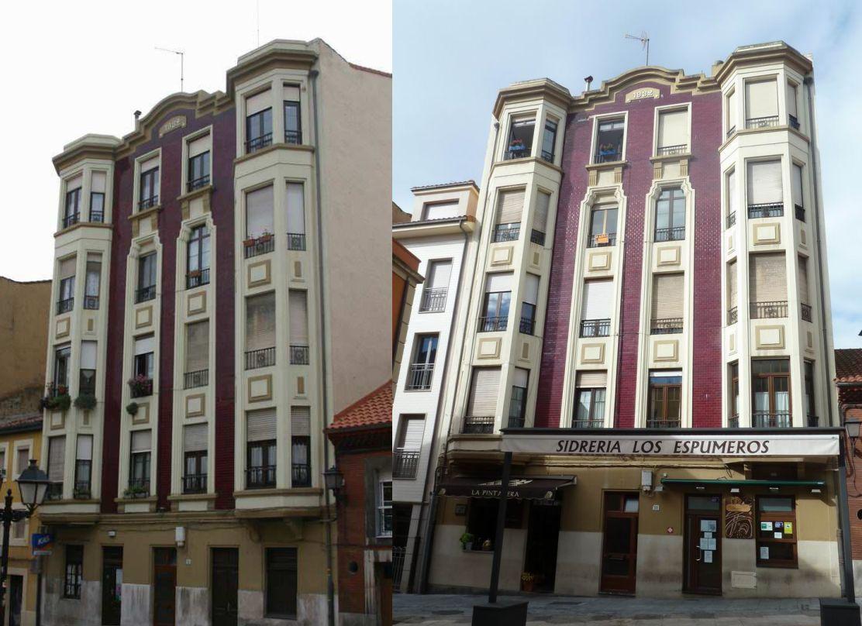 Calle Rosario 56 es Art Decó de Gijón