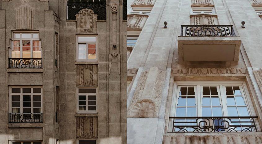 Zigzag Moderne en el Art Decó de Gijón en calle Marqués de San Esteban