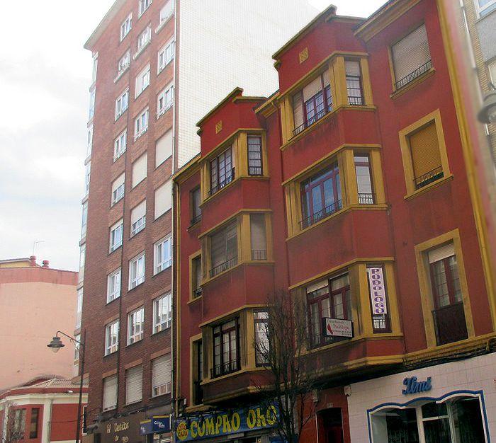 Avenida de Galicia 101 es Art Decó en Gijón