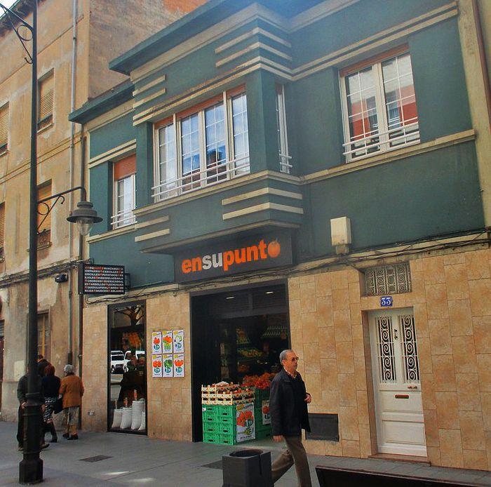 Avenida de la Argentina 29 es Art Decó en Gijón