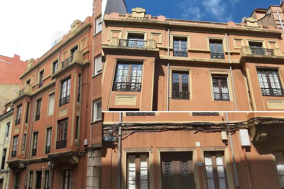 Calle Ezcurdia 11 es Art Decó en Gijón