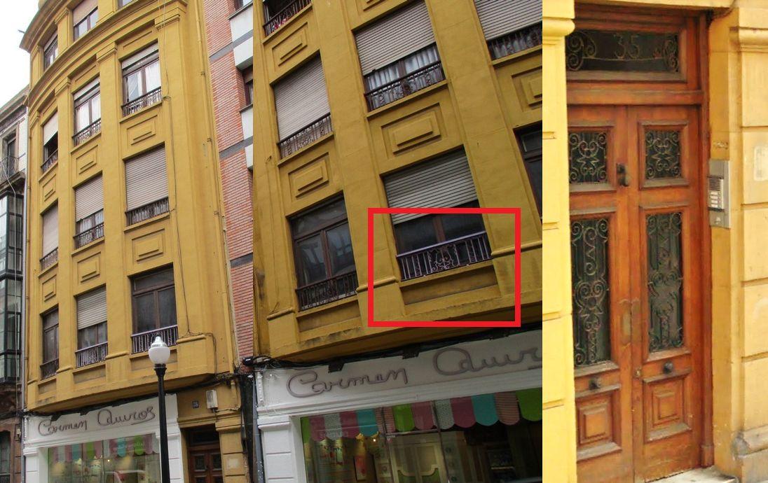 Calle Marqués de Casa Valdés 35 es Zigzag Moderne del Art Decó en Gijón