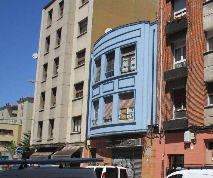 Calle Zoila 3 es Art Decó en Gijón