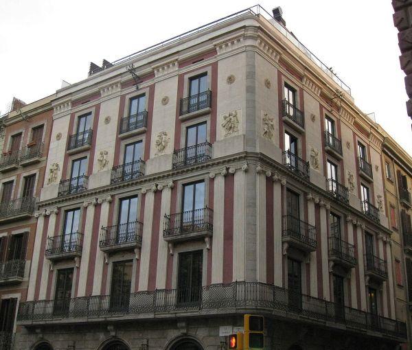 Hotel Bagués Barcelona Rambla