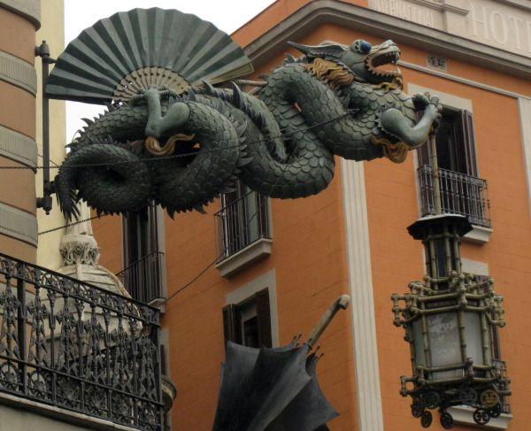 Dragón Casa Bruno Cuadros