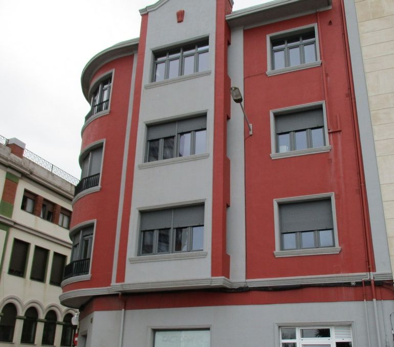 Edificios de arquitectura Art Decó en Gijón