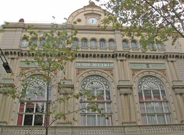 Historia Liceu Barcelona