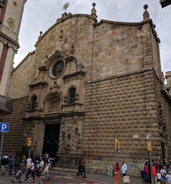 Iglesia de Belén refugio Orgullo de las Ramblas 1977