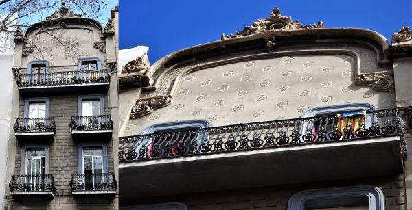Modernismo La Rambla Barcelona