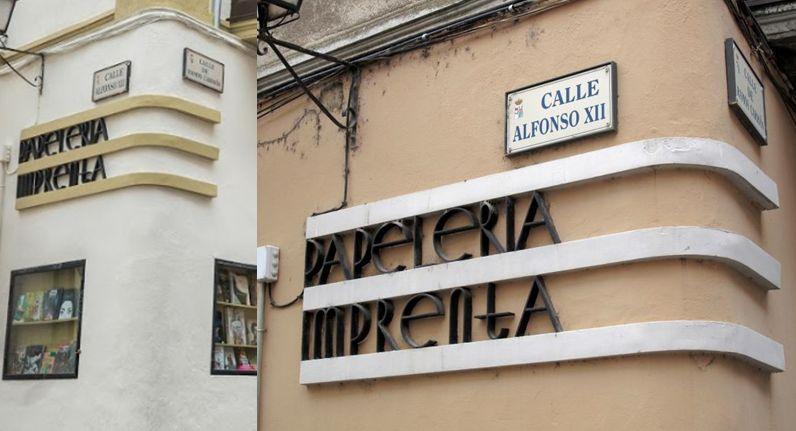 Librería Semuret Zamora Art Decó