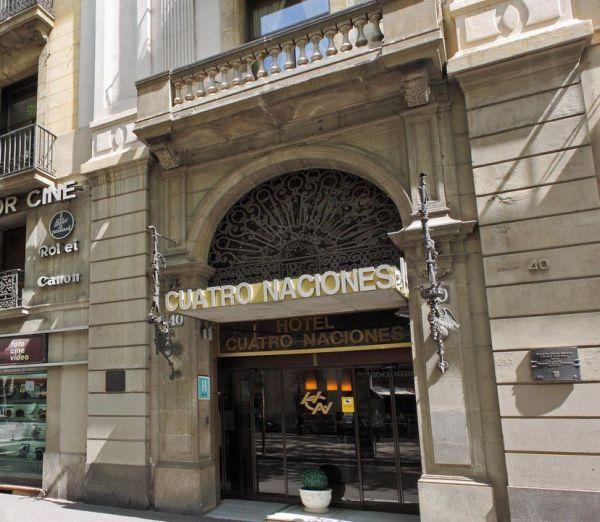 Orgullo de Las Ramblas Hotel Cuatro Naciones entrada