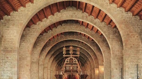 Orgullo de Las Ramblas monumento de las Atarazanas