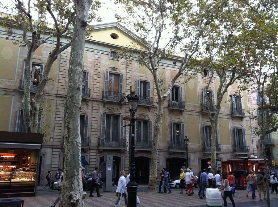 arquitectura Palacio Moja de Barcelona