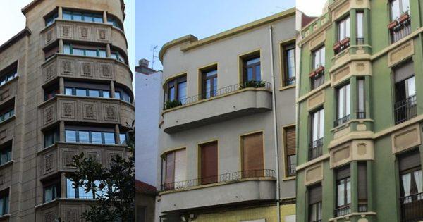 Ruta por los edificios de arquitectura Art Decó en Gijón