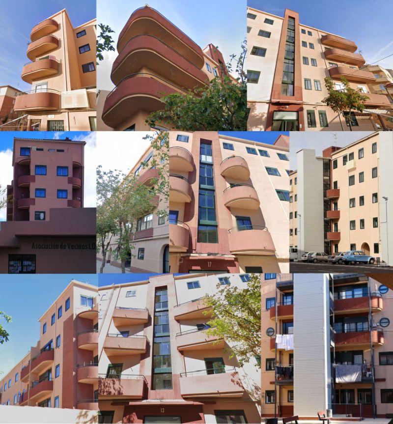 Zamora Art Decó Streamline Moderne en Los Bloques