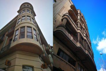 Zamora Art Decó edificios