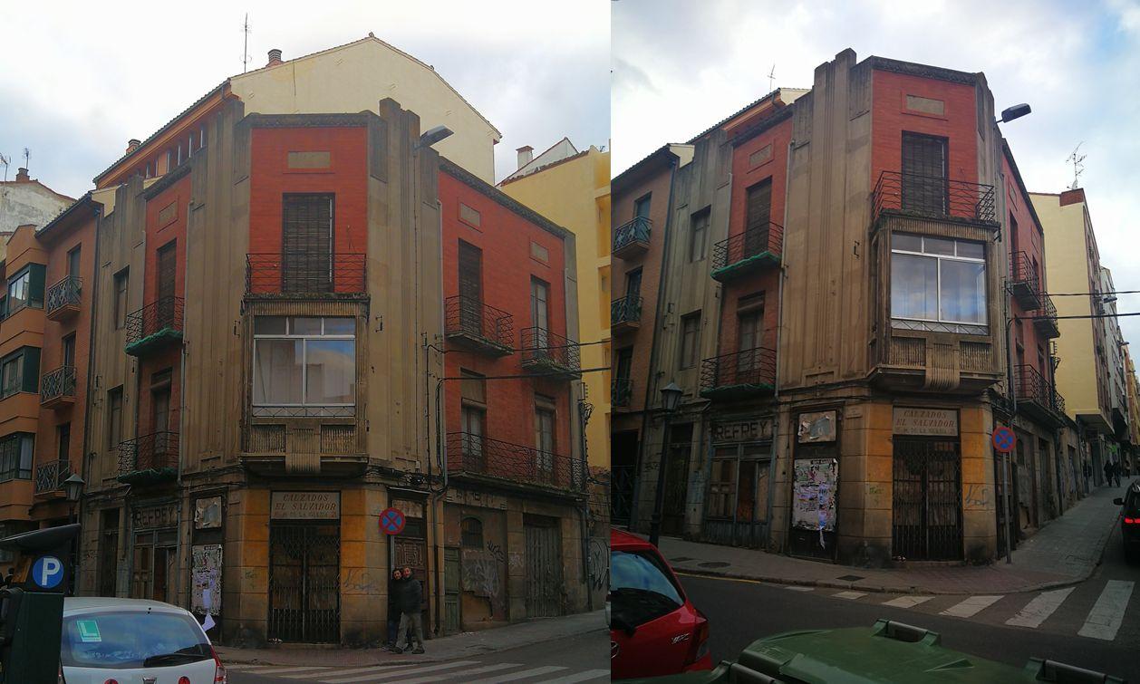 Edificio Espías, joya de la Zamora Art Decó (calle San Pablo, 17)