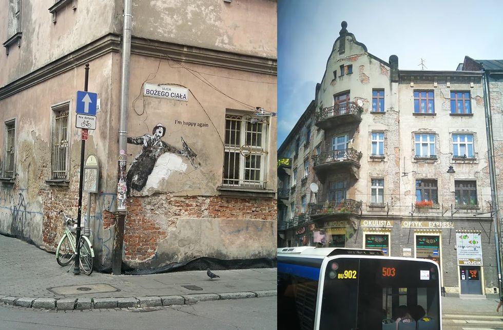 Calle de Cracovia decadencia