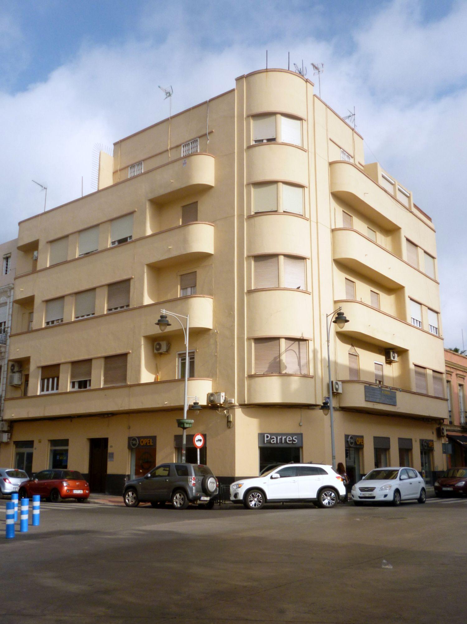 Casa de Juan Parres Puig (calle General O'Donnell, 41)