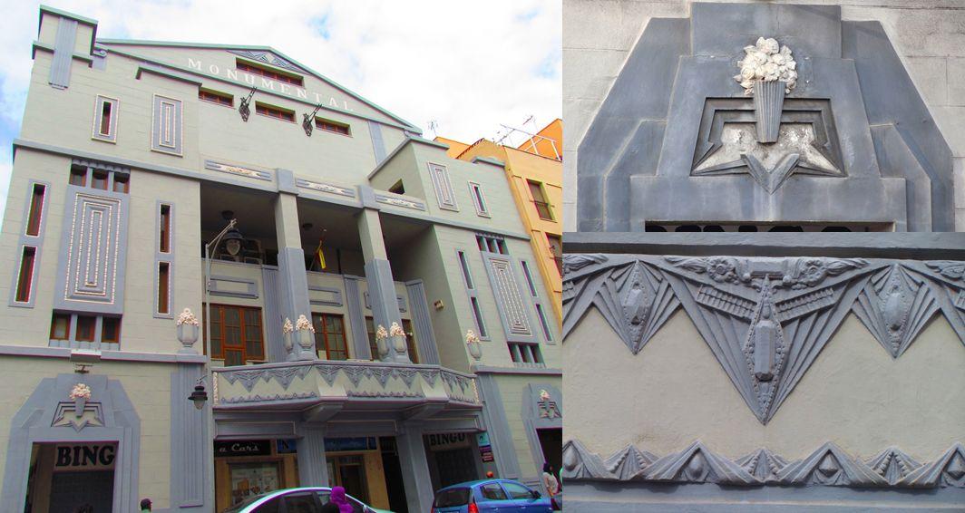 Teatro-Cine Monumental, Melilla Art Decó