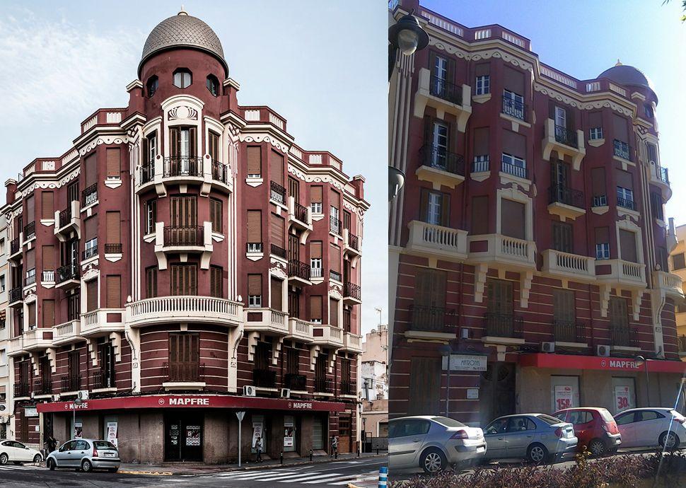 Edificio Rojo (avenida de la Democracia, 8)
