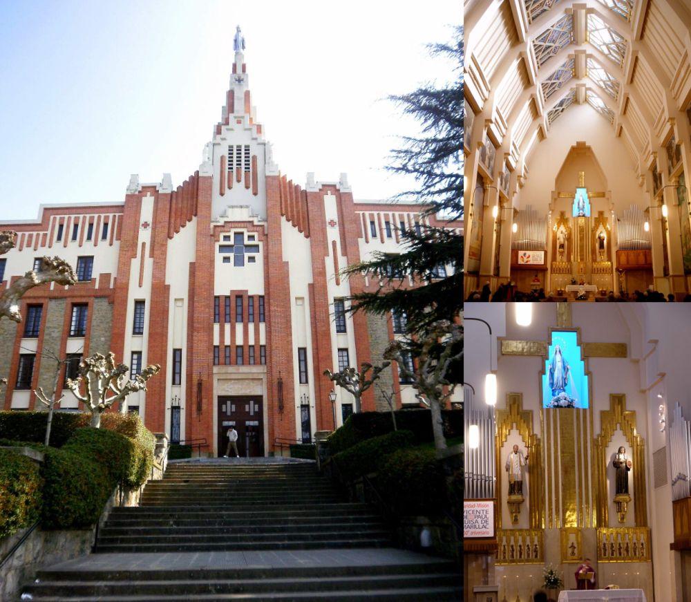 Iglesia de la Milagrosa Pamplona Art Decó