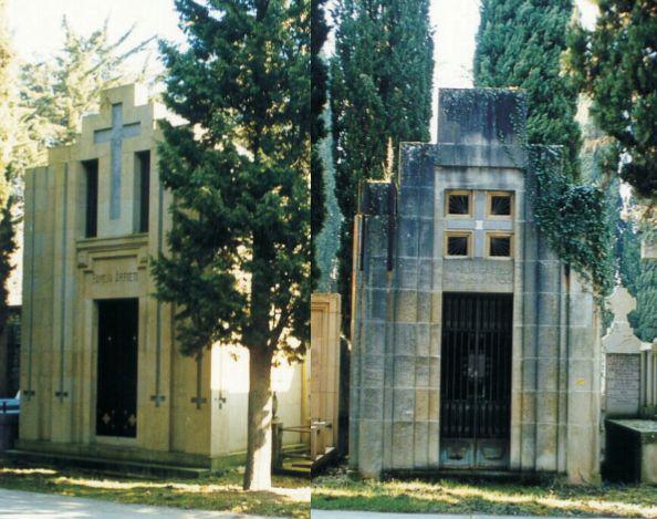 Cementerio Municipal de San José Udal Hilerria Pamplona Art Decó