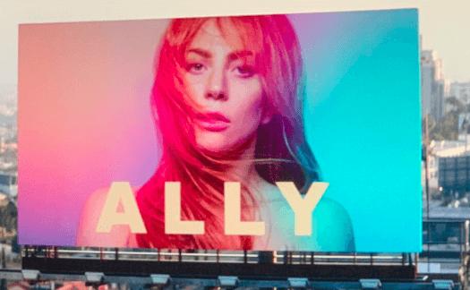 Ally popstar película de Lady Gaga Ha nacido una estrella