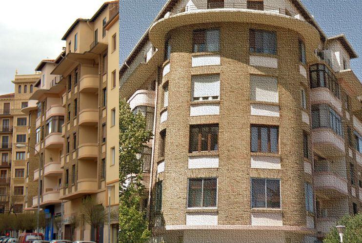 Avenida de Baja Navarra, 17 (tercer bloque que conforma la Casa de las Bañeras)