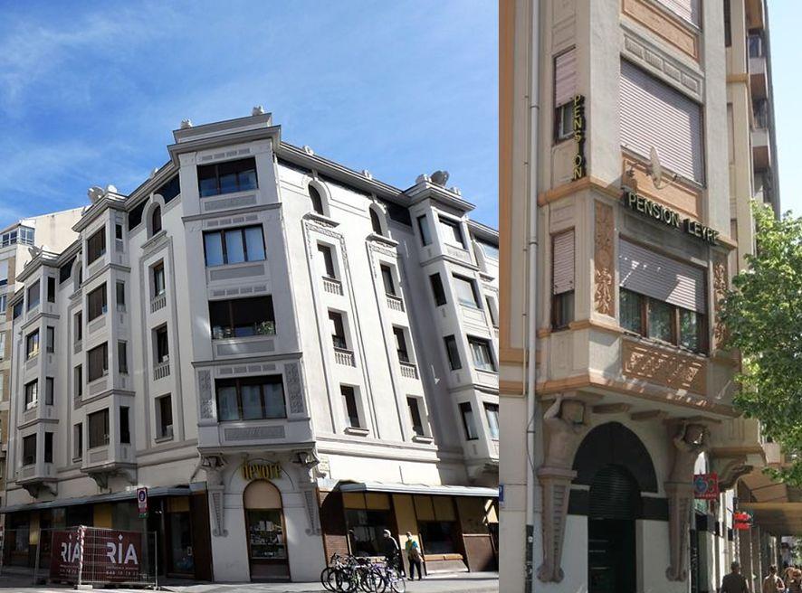 Calle de Emilio Arrieta, 27, avenida de la Baja Navarra, 1 y de Francisco Bergamín, 5