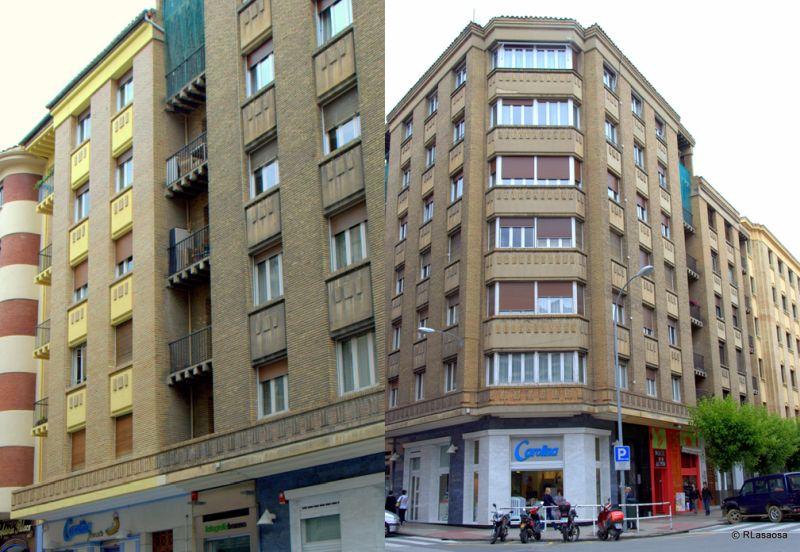 Calle de Estella 5 y calle Sancho el Mayor 1