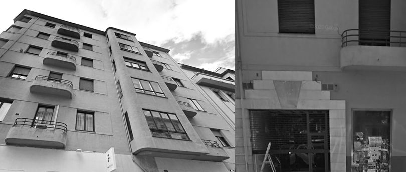 Calle de Francisco Bergamín, 6 y Plaza de la Cruz, 8