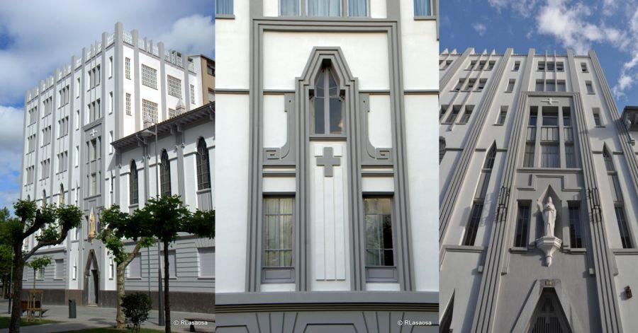 Centro de Formación Profesional y Convento para las Hijas de María Inmaculada (avenida Roncesvalles, 1)