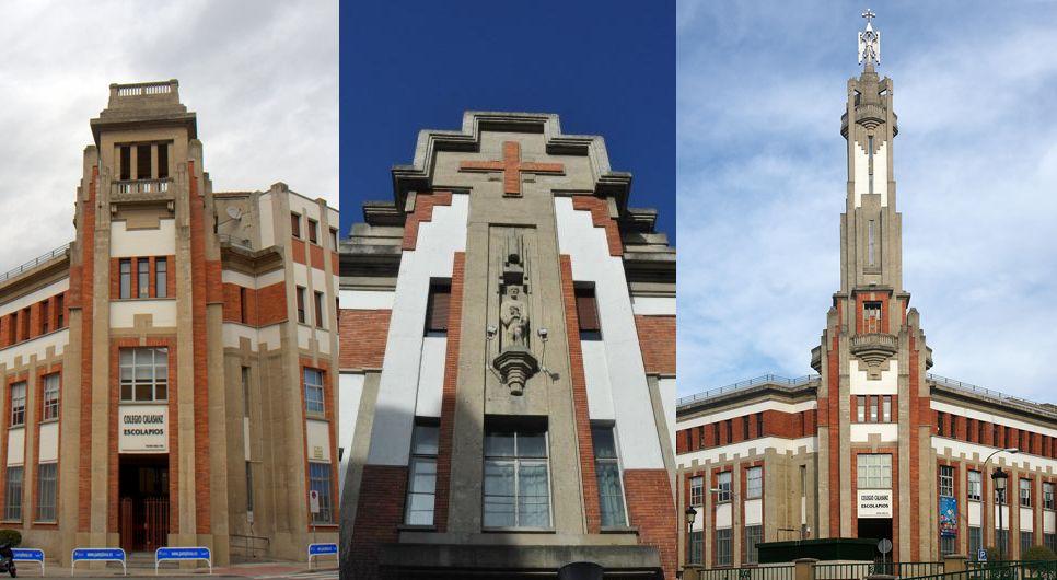 Colegio Calasanz-Escolapios (calle de Olite, 1)