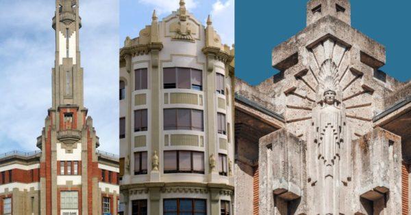 Edificios de la Pamplona Art Decó: Colegio Escolapios, avenida de Carlos III, Casa Irigoyen y más