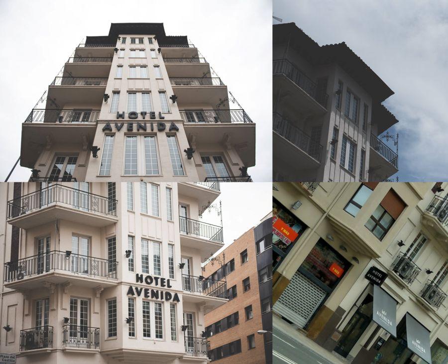 Hotel Avenida (antiguo Hostal Valerio), situado en avenida Zaragoza, 3 y 5 y calle Leyre, 24