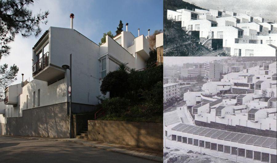 Francisco Javier Sáenz de Oíza inspirador casas escalonadas Montbau