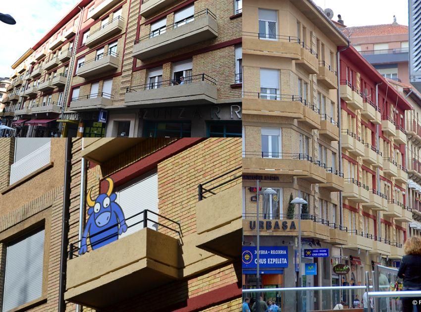 Calle Sancho el Mayor, 4, García Ximénez, 3 y 5 y calle de Tudela 3 a 7