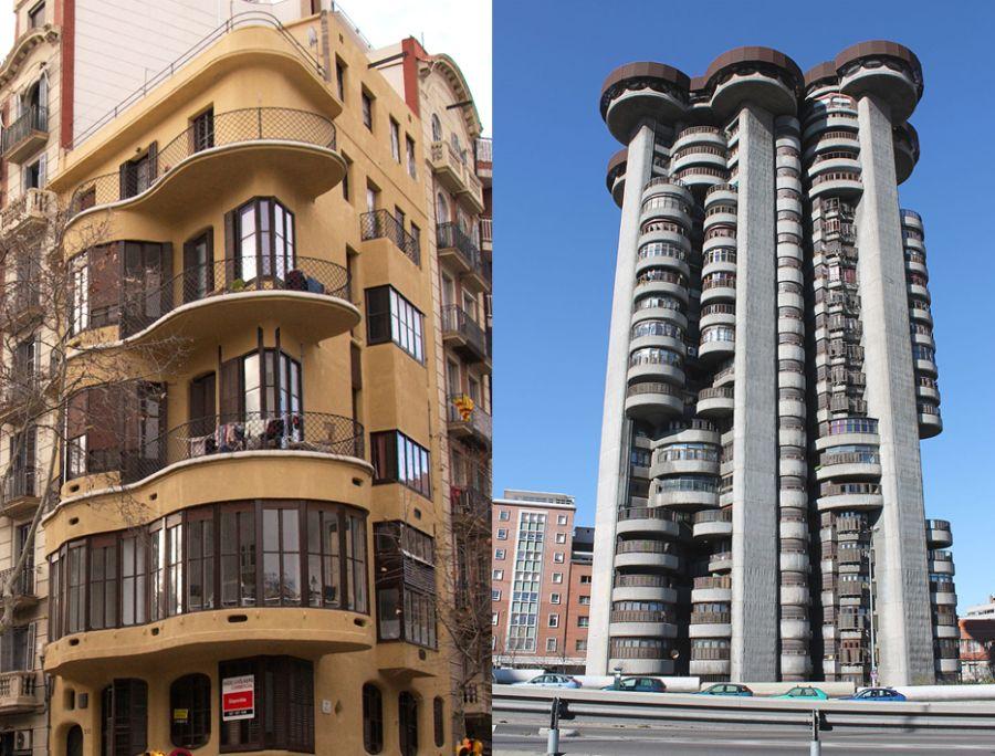 Casa Planells expresionismo Torres Blancas Francisco Javier Sáenz de Oíza