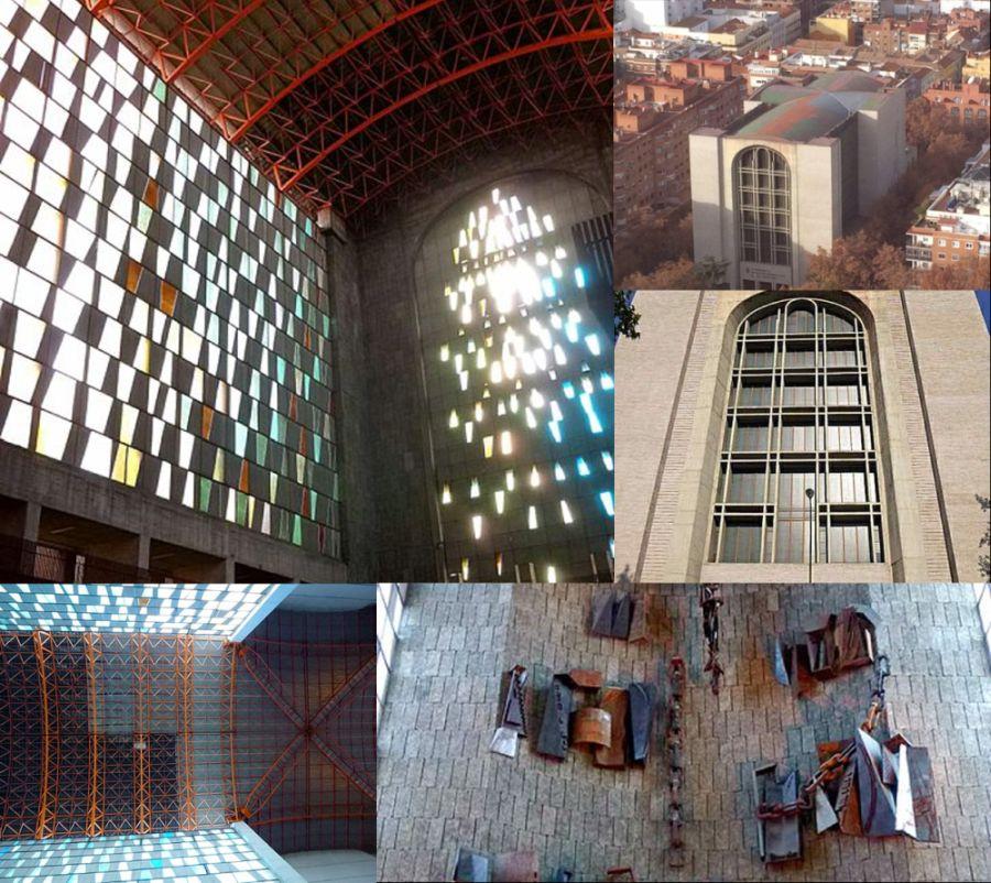 Basílica Hispanoamericana de Nuestra Señora de la Merced Francisco Javier Sáenz de Oíza