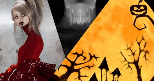 discos de horrorsynth halloween Kim Petras