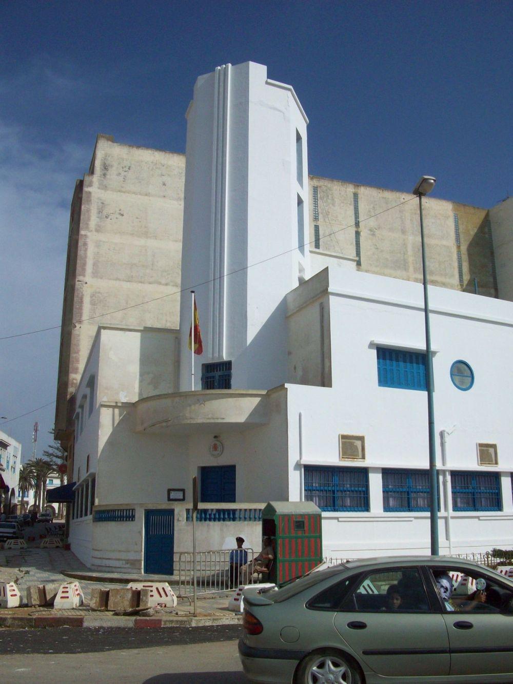 casa del Flecha, Larache (actual Consulado de EspañaI