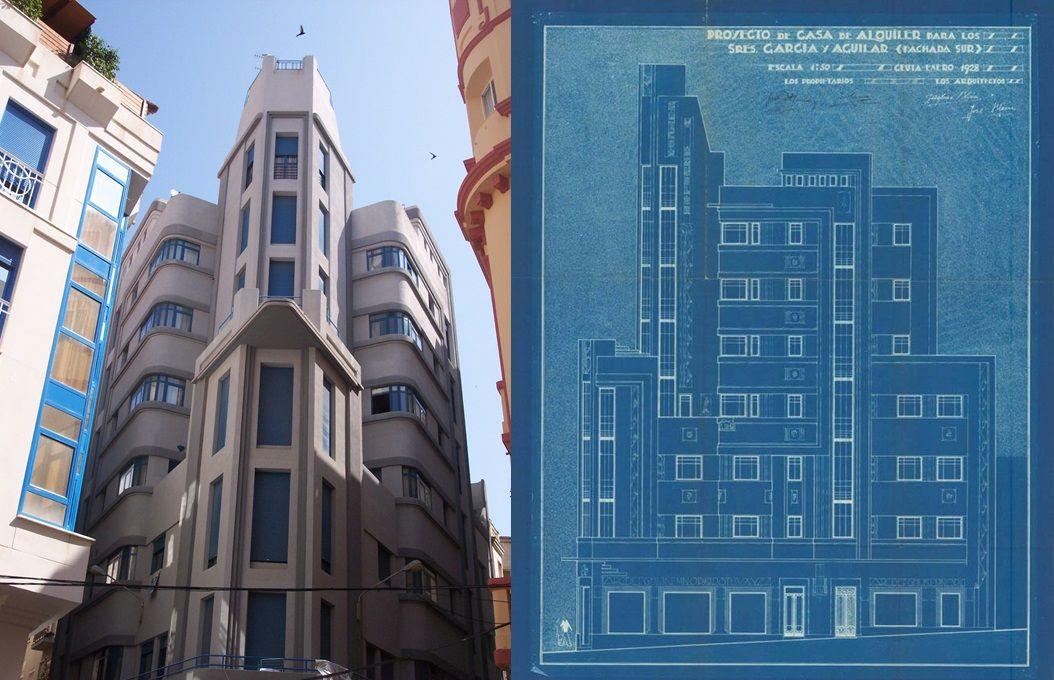 Edificio El Avión o Viviendas García Aguilar (calle Isabel Cabral, 1)
