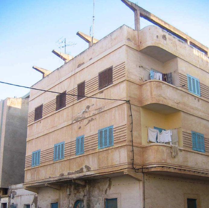 Viviendas de Art Decó racionalista en avenida Mohamed Amezziane Er Rif